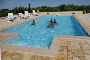Trulli dal Conte, piscina